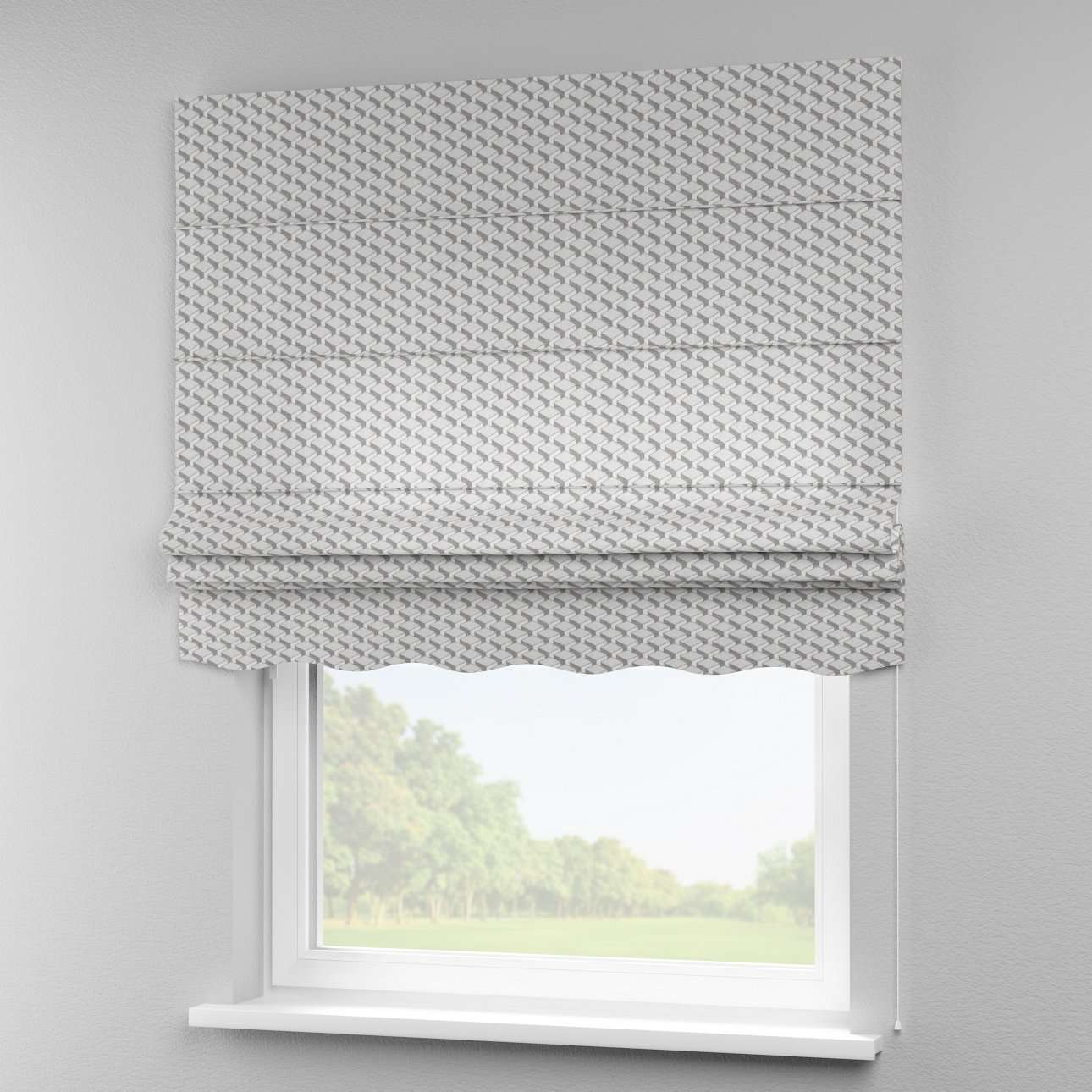 Florence roman blind  80 x 170 cm (31.5 x 67 inch) in collection Rustica, fabric: 138-18