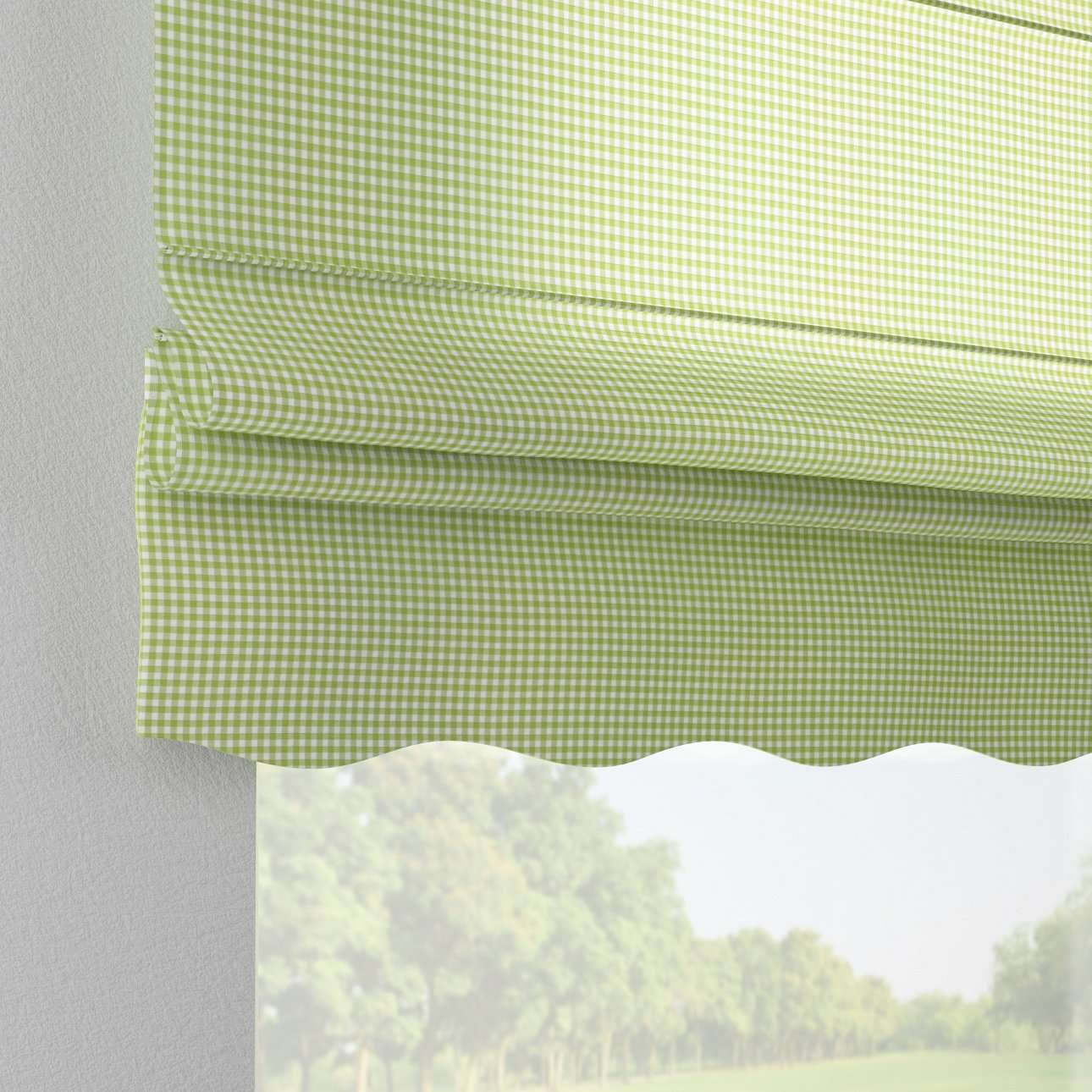 Florence roman blind  80 x 170 cm (31.5 x 67 inch) in collection Quadro, fabric: 136-33