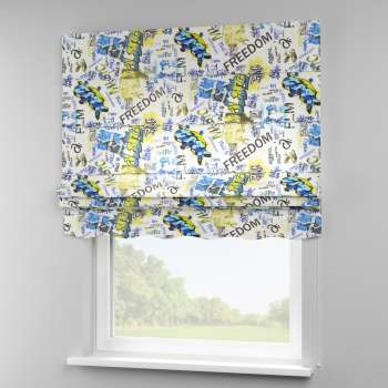 Florence roman blind  80 x 170 cm (31.5 x 67 inch) in collection Freestyle, fabric: 135-08