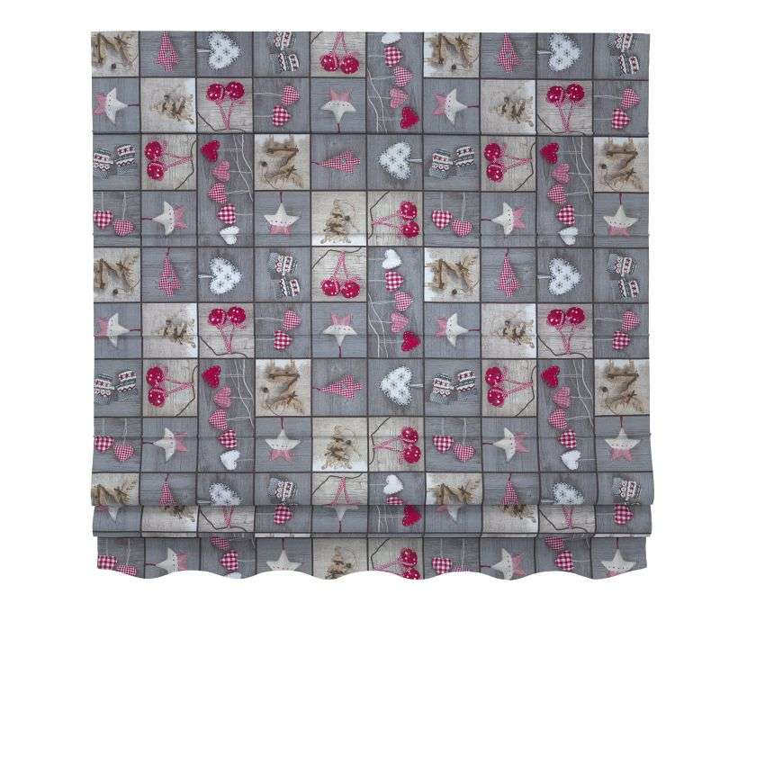 Florence roman blind  80 x 170 cm (31.5 x 67 inch) in collection Christmas , fabric: 629-20