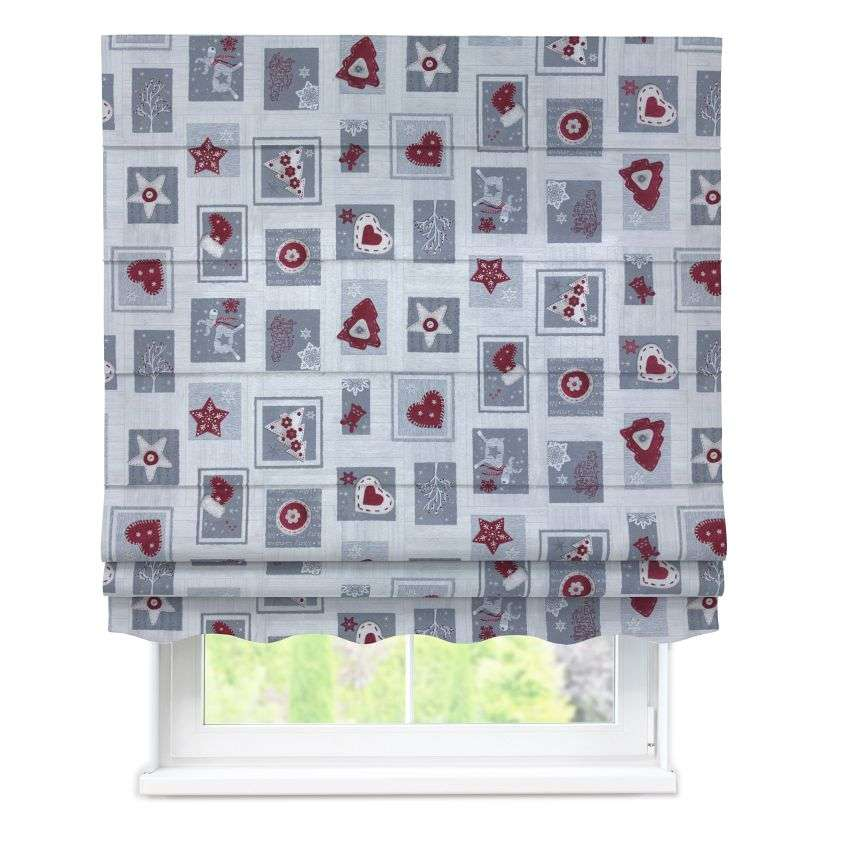 Florence roman blind  80 x 170 cm (31.5 x 67 inch) in collection Christmas , fabric: 629-23