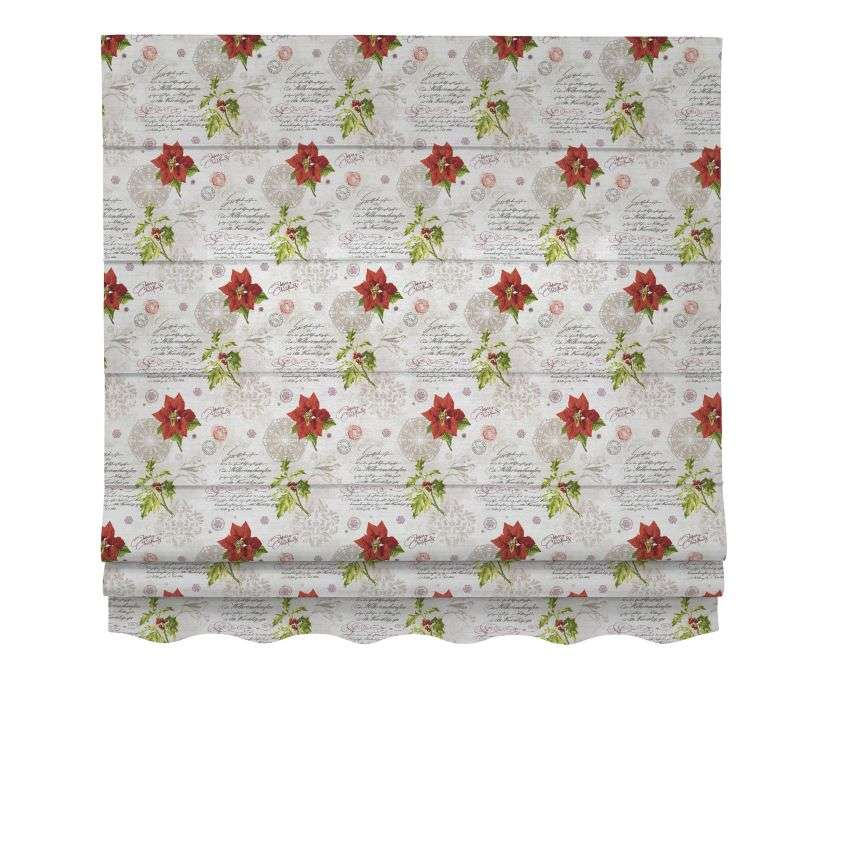 Florence roman blind  80 x 170 cm (31.5 x 67 inch) in collection Christmas, fabric: 629-24