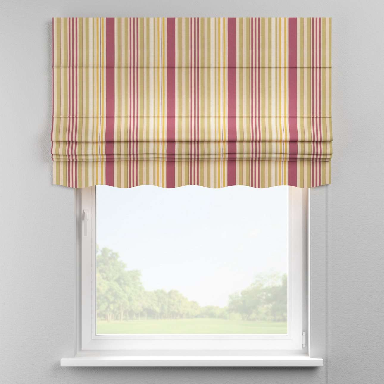 Florence roman blind  80 x 170 cm (31.5 x 67 inch) in collection Londres, fabric: 122-09
