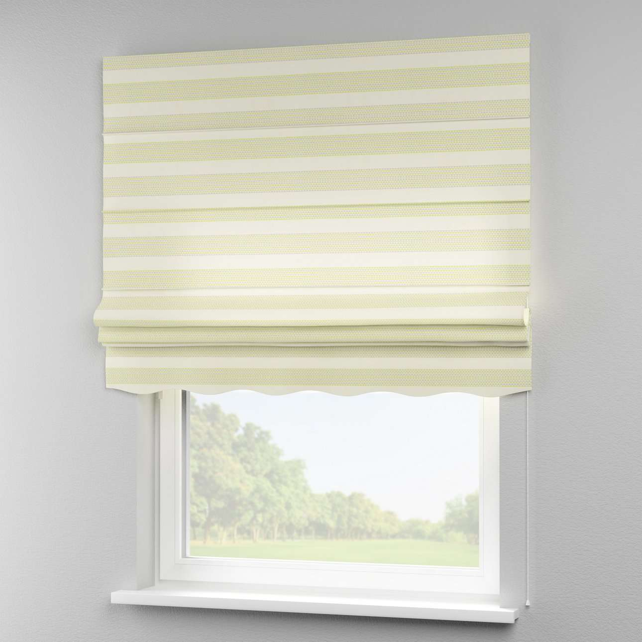 Florence roman blind  80 × 170 cm (31.5 × 67 inch) in collection Rustica, fabric: 140-35