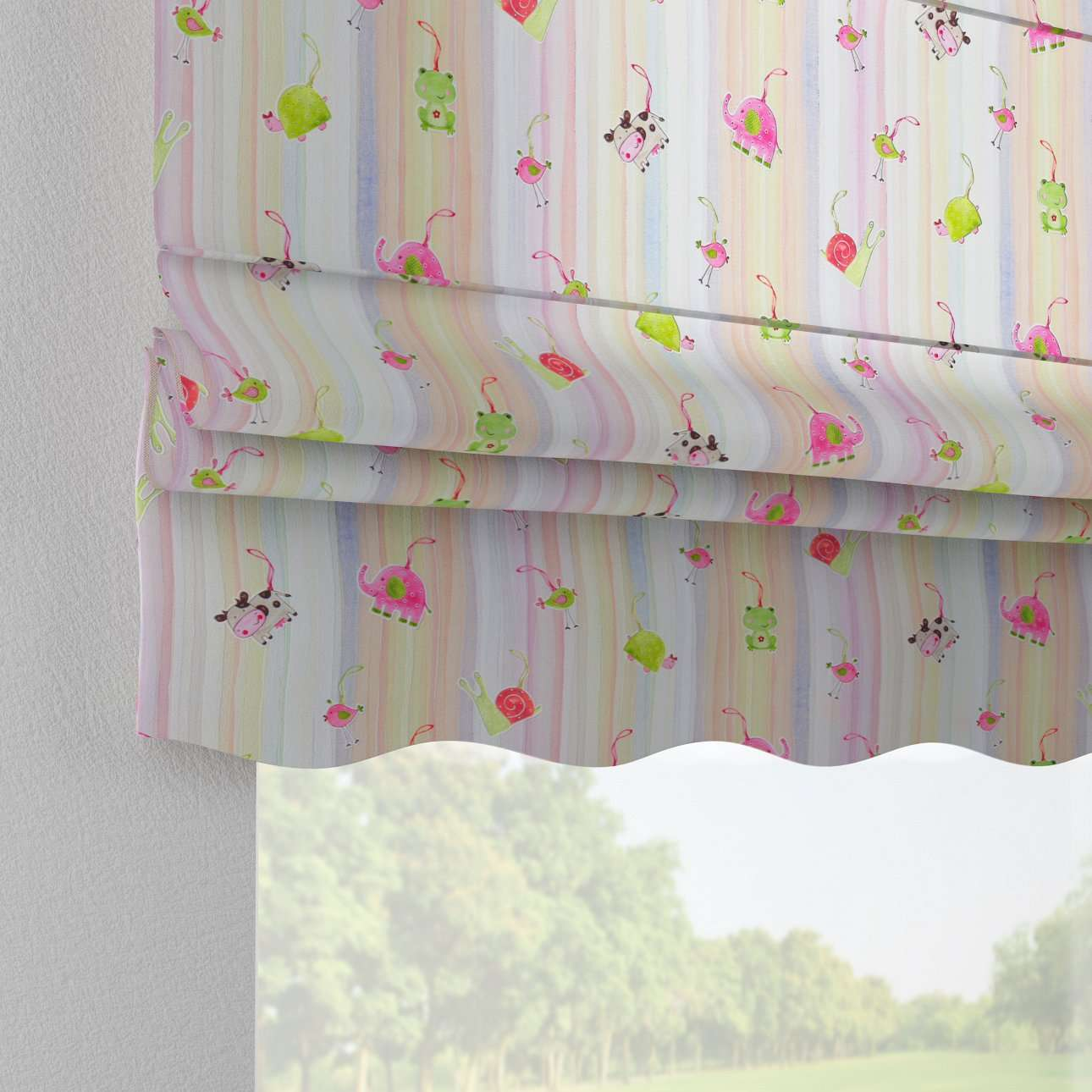 Florence roman blind  in collection Apanona, fabric: 151-05