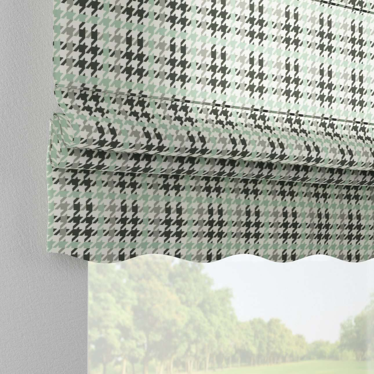 Florence roman blind  80 x 170 cm (31.5 x 67 inch) in collection Brooklyn, fabric: 137-77