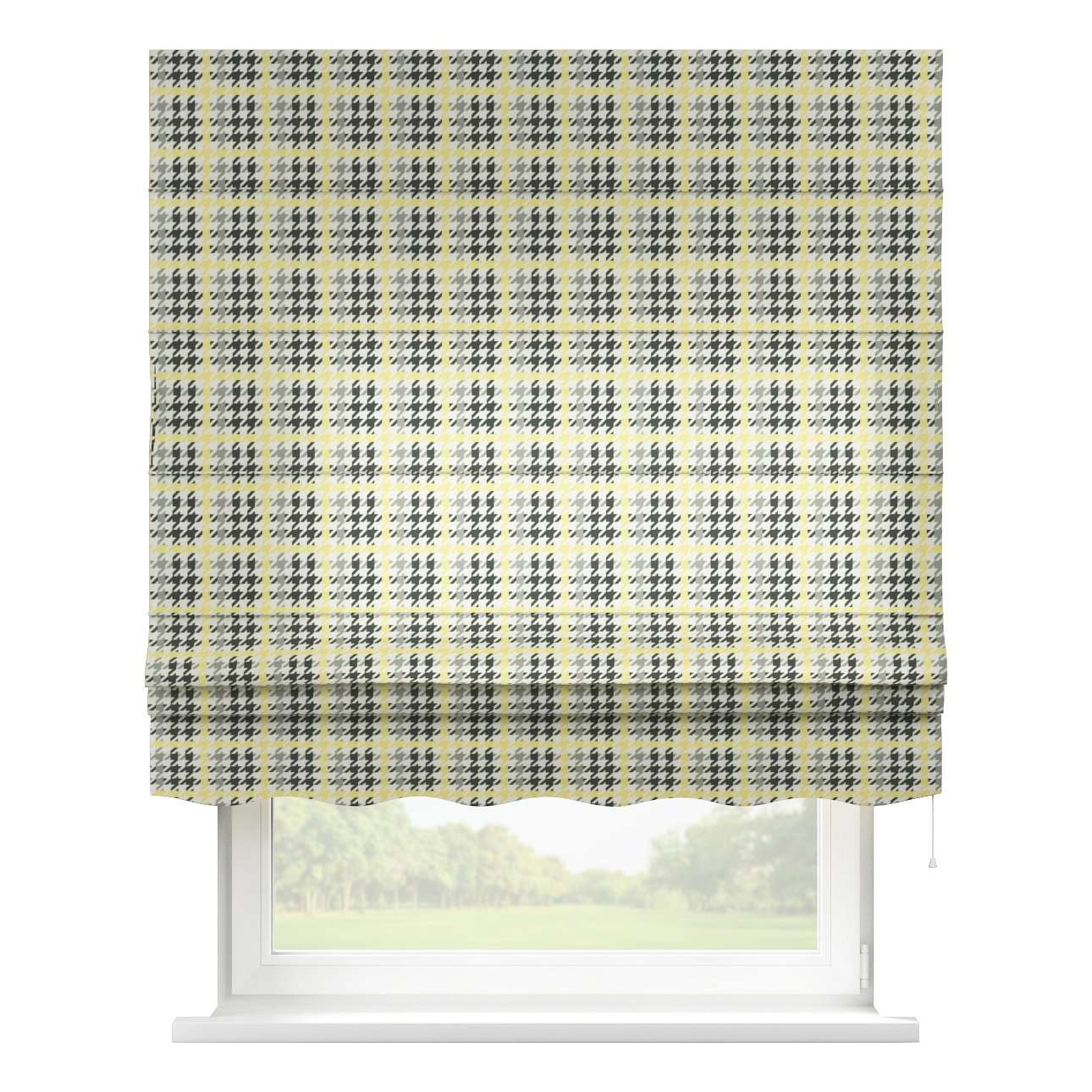 Florence roman blind  80 x 170 cm (31.5 x 67 inch) in collection Brooklyn, fabric: 137-79
