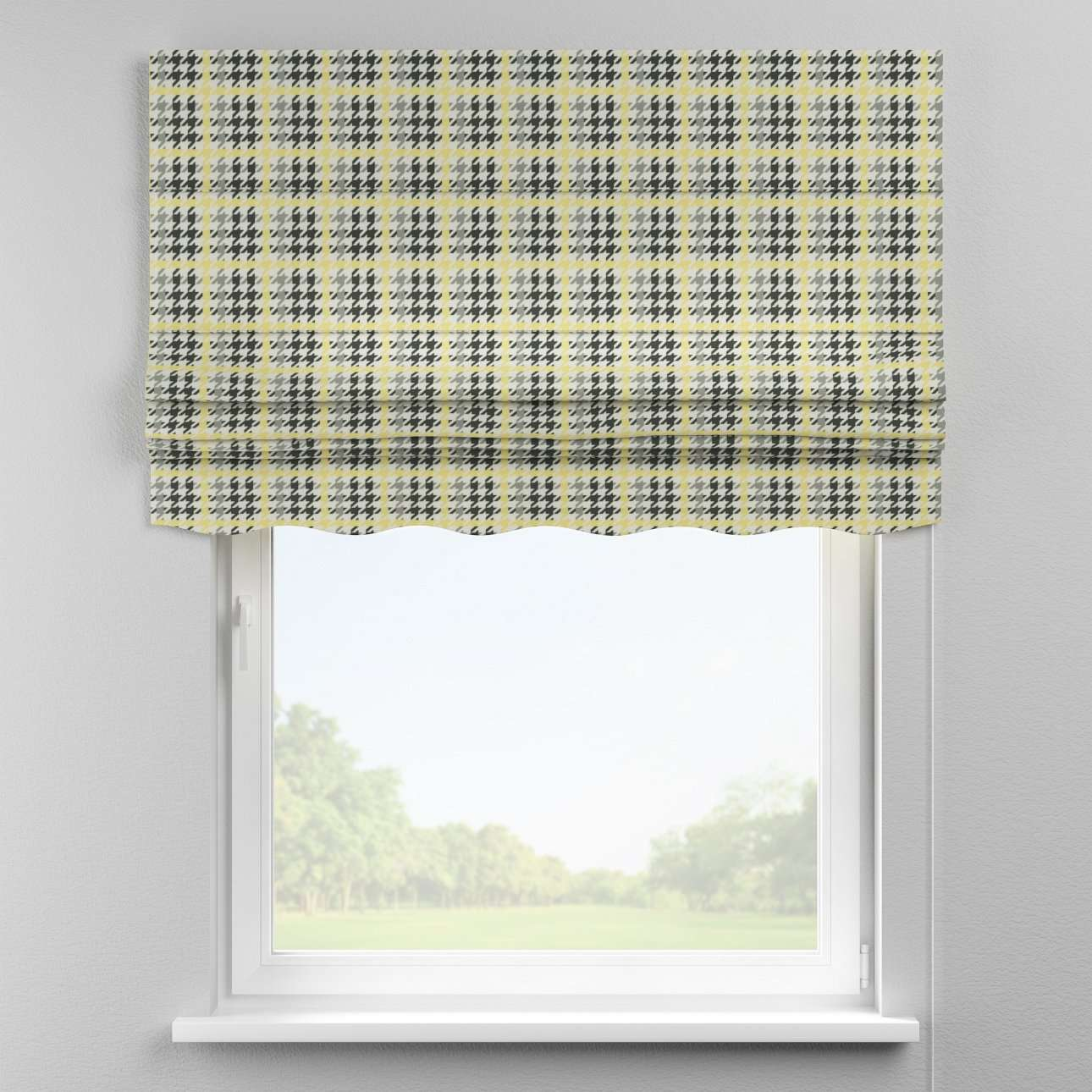 Florence roman blind  80 × 170 cm (31.5 × 67 inch) in collection Brooklyn, fabric: 137-79