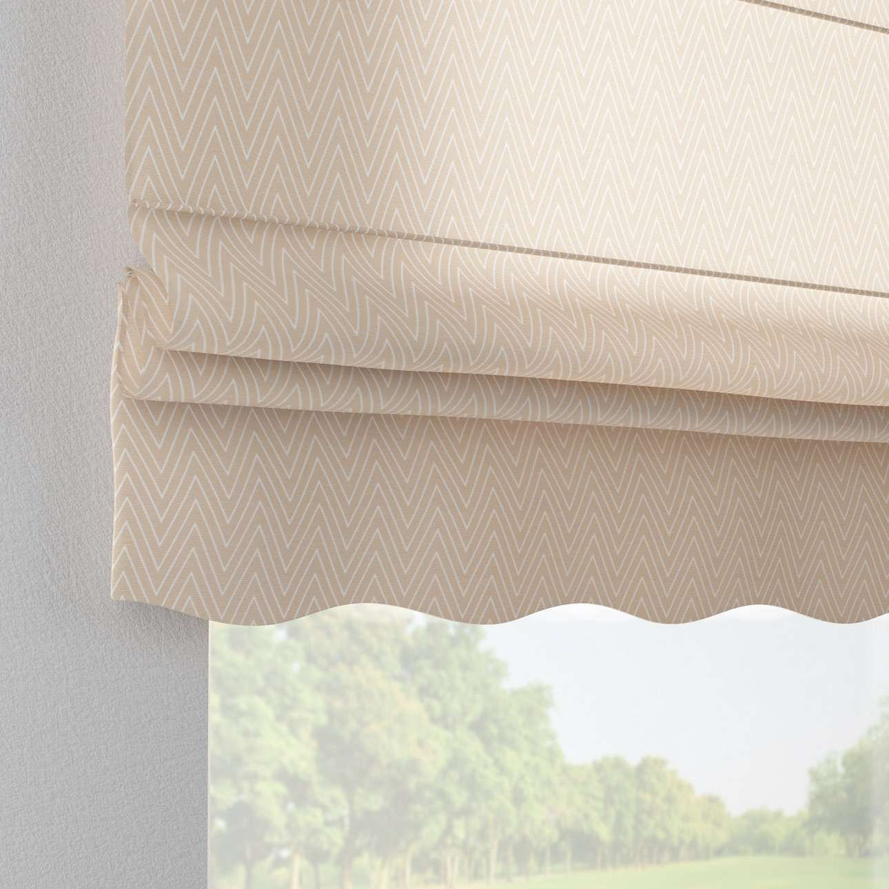 Florence roman blind  in collection Brooklyn, fabric: 137-91