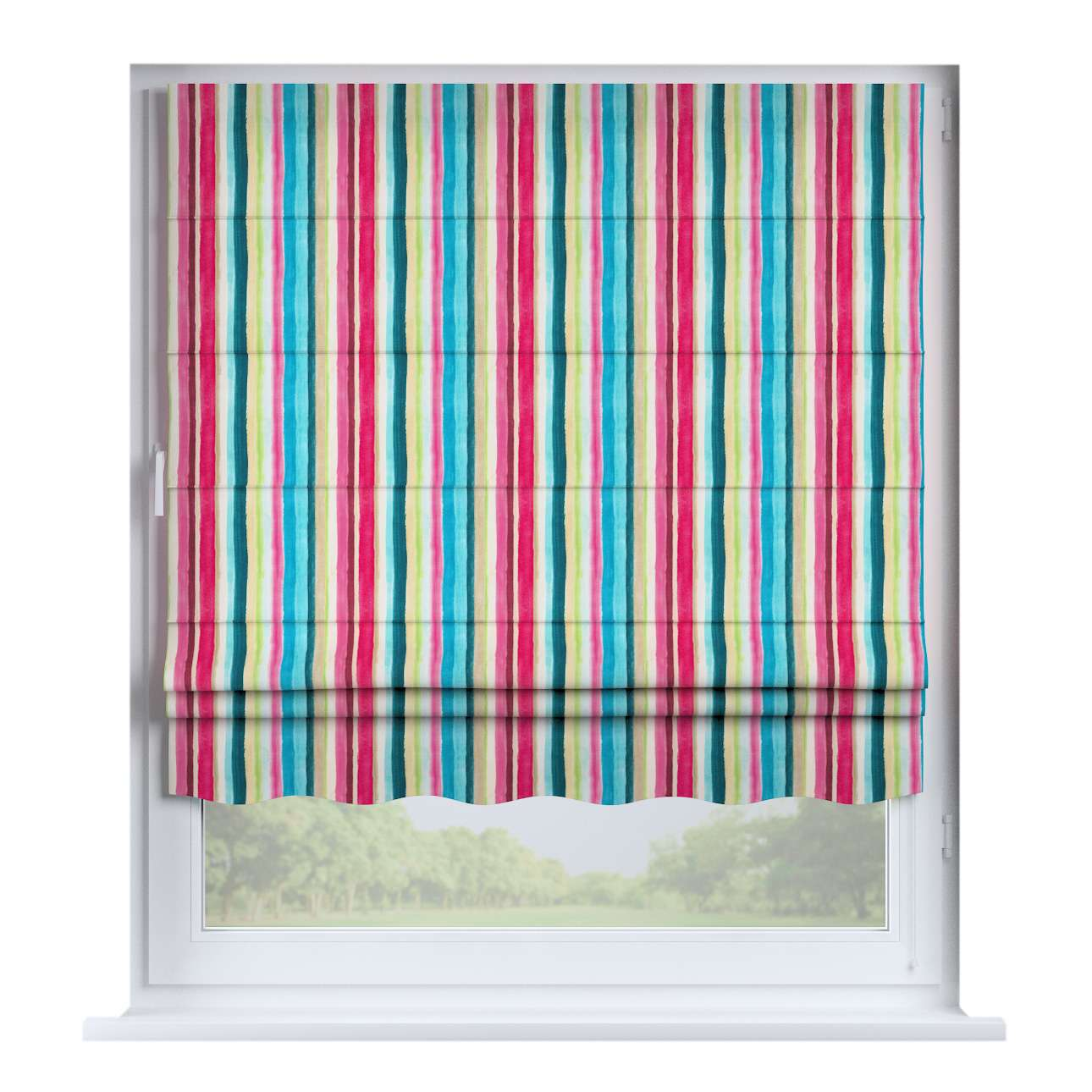 Florence roman blind  80 × 170 cm (31.5 × 67 inch) in collection Monet, fabric: 140-09