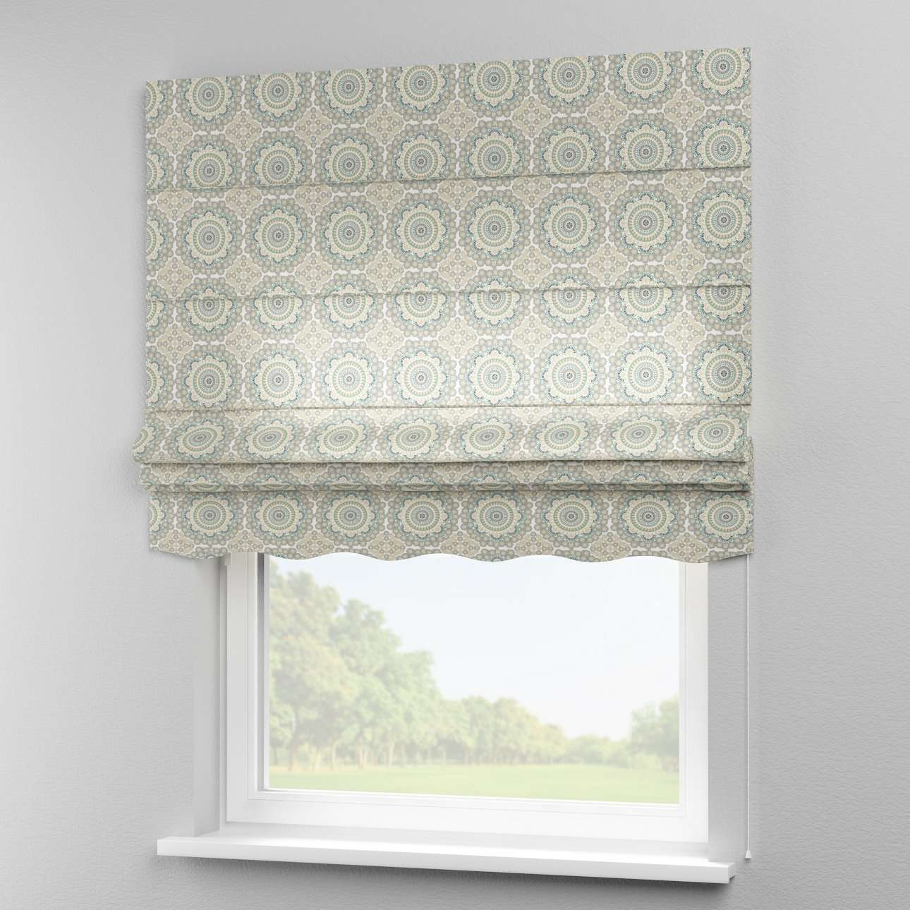 Florence roman blind  in collection Comics/Geometrical, fabric: 137-84