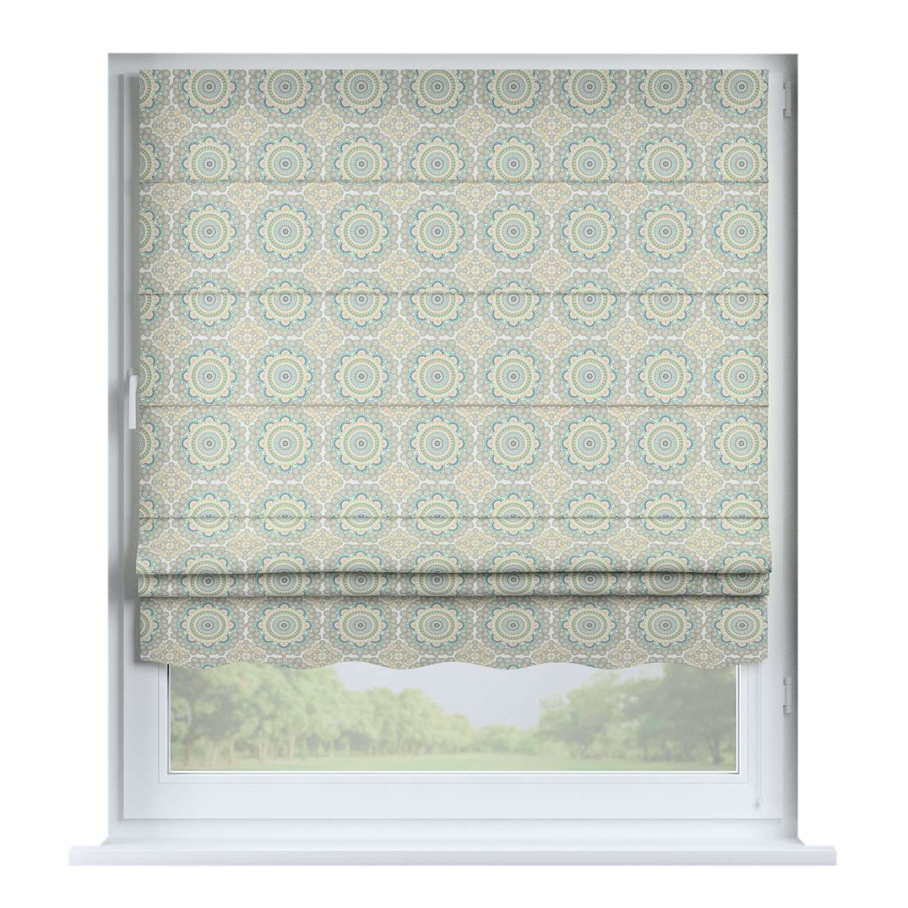 Florence roman blind  80 x 170 cm (31.5 x 67 inch) in collection Comic Book & Geo Prints, fabric: 137-84