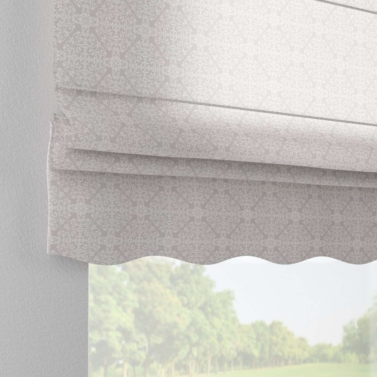 Florence roman blind  80 x 170 cm (31.5 x 67 inch) in collection Flowers, fabric: 140-38