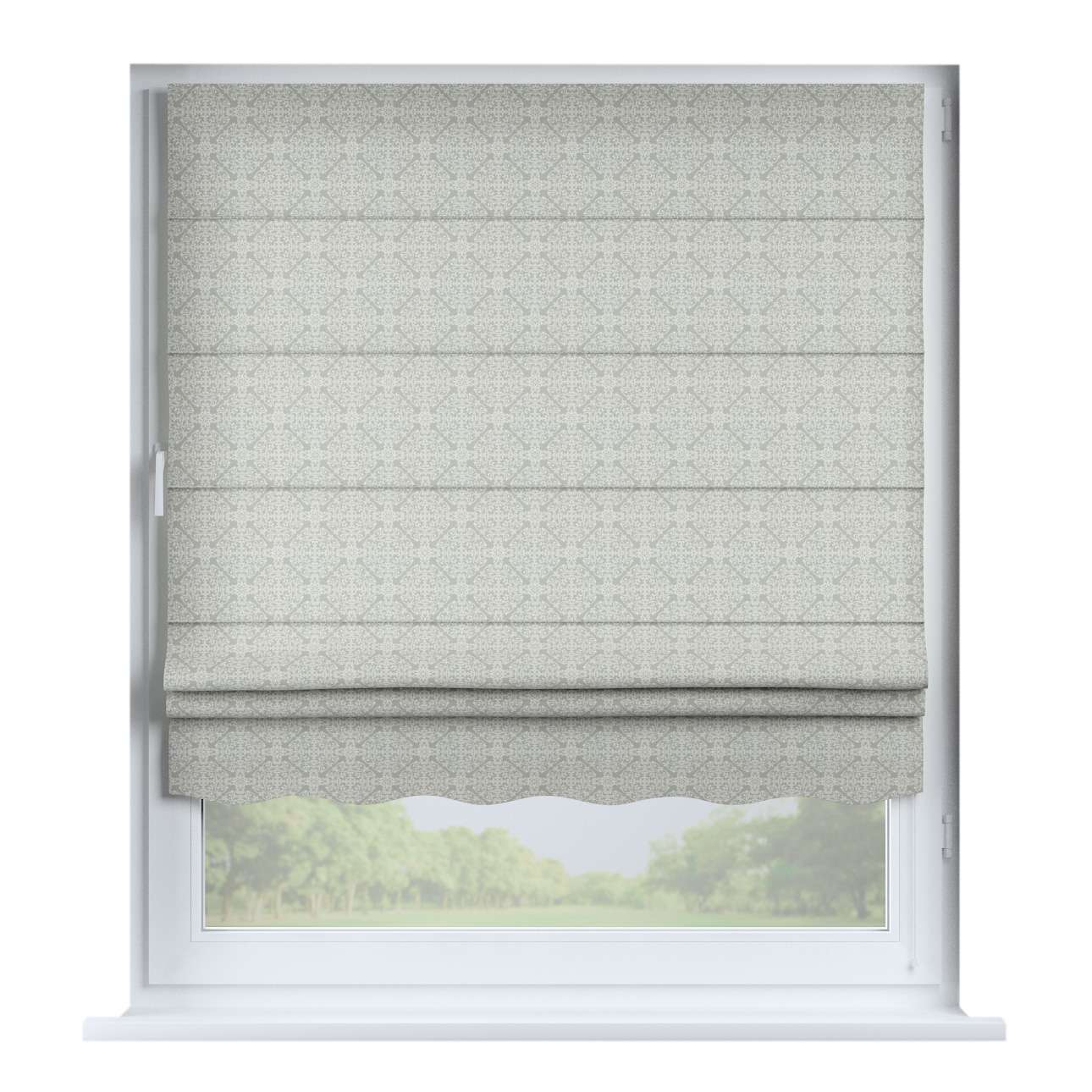 Florence roman blind  80 × 170 cm (31.5 × 67 inch) in collection Flowers, fabric: 140-38