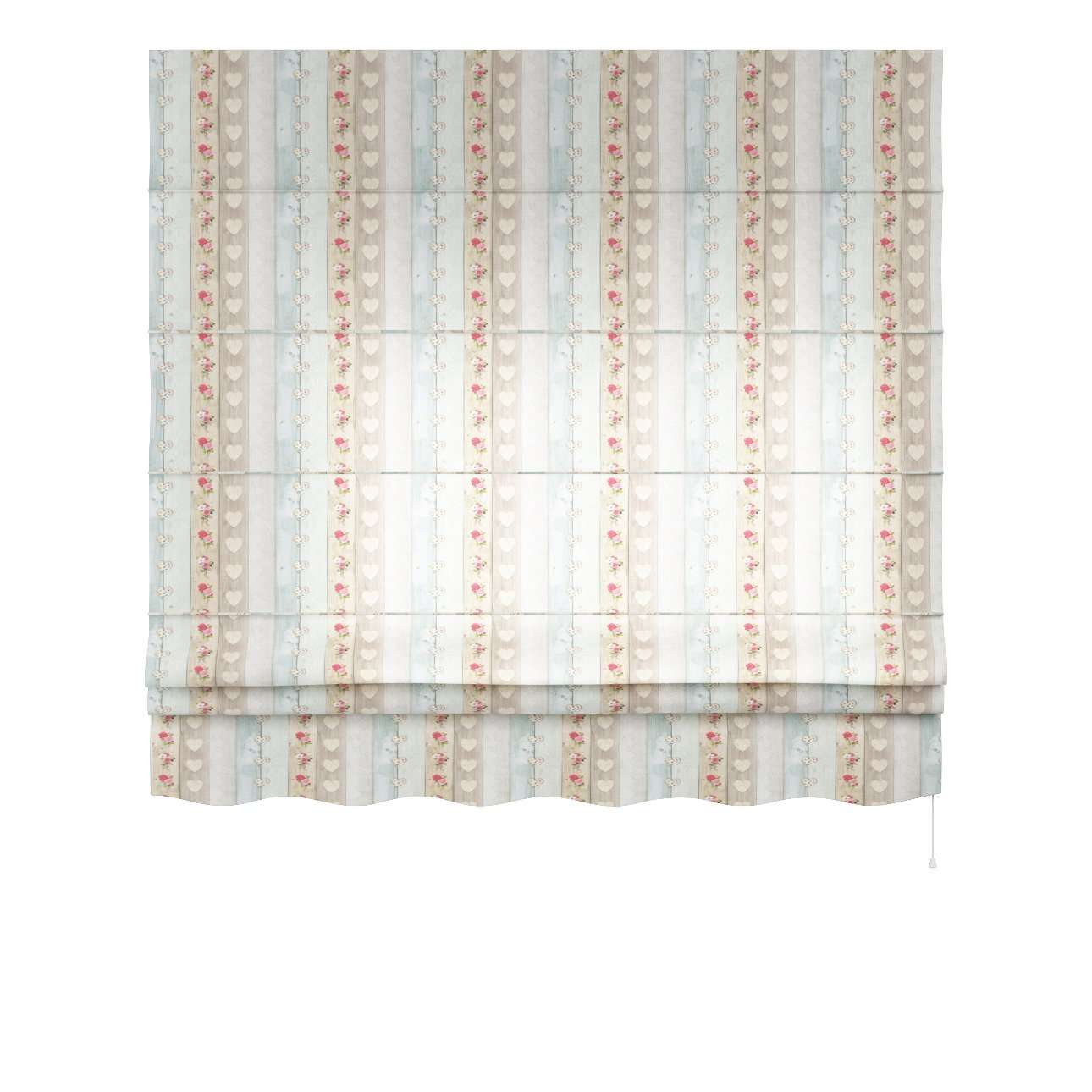 Florence roman blind  80 × 170 cm (31.5 × 67 inch) in collection Ashley, fabric: 140-20