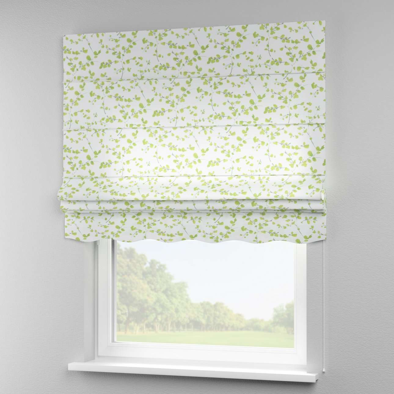 Florence roman blind  in collection Aquarelle, fabric: 140-76