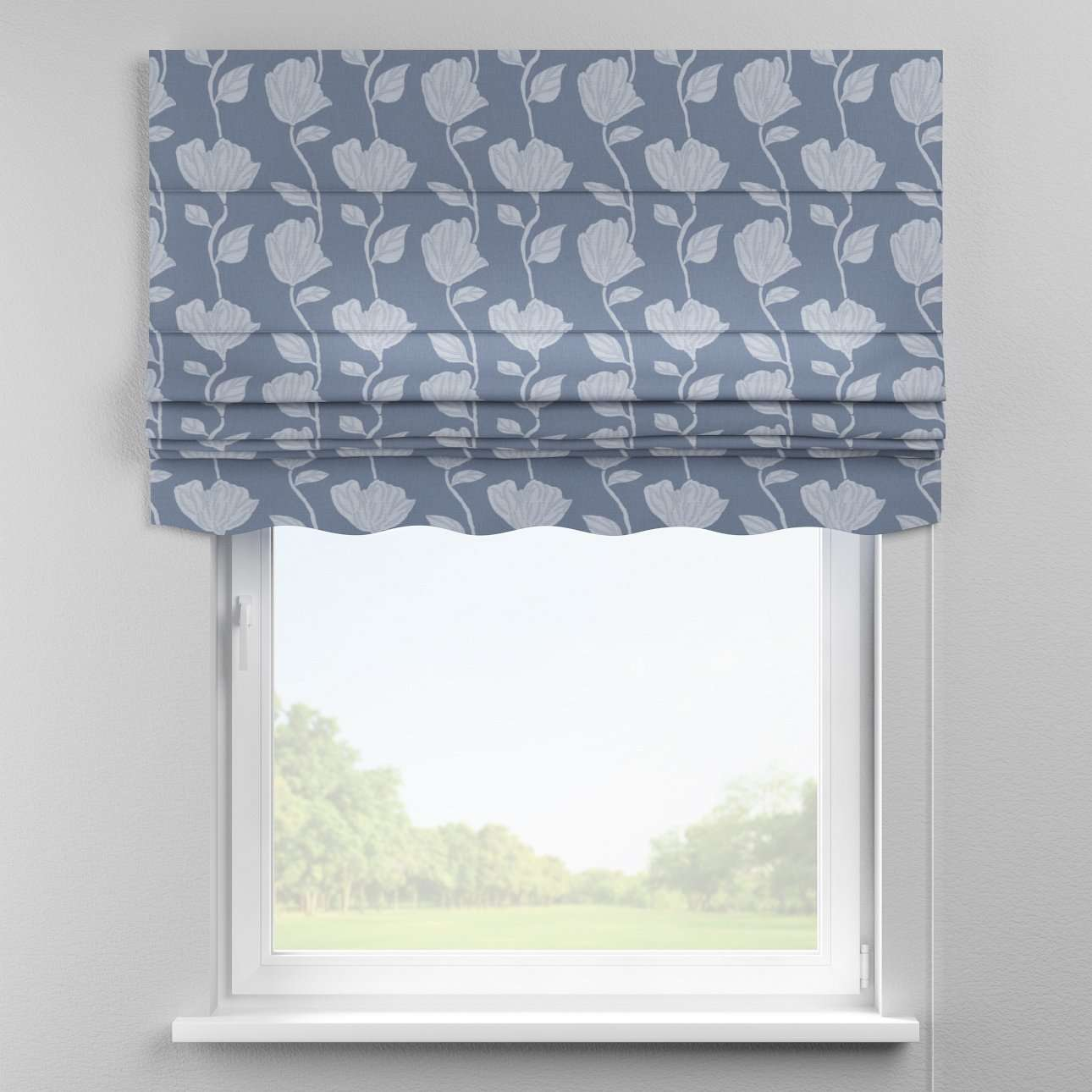 Florence roman blind  80 × 170 cm (31.5 × 67 inch) in collection Venice, fabric: 140-61