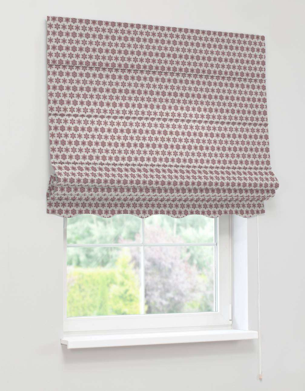 Florence roman blind  80 x 170 cm (31.5 x 67 inch) in collection Christmas , fabric: 630-22