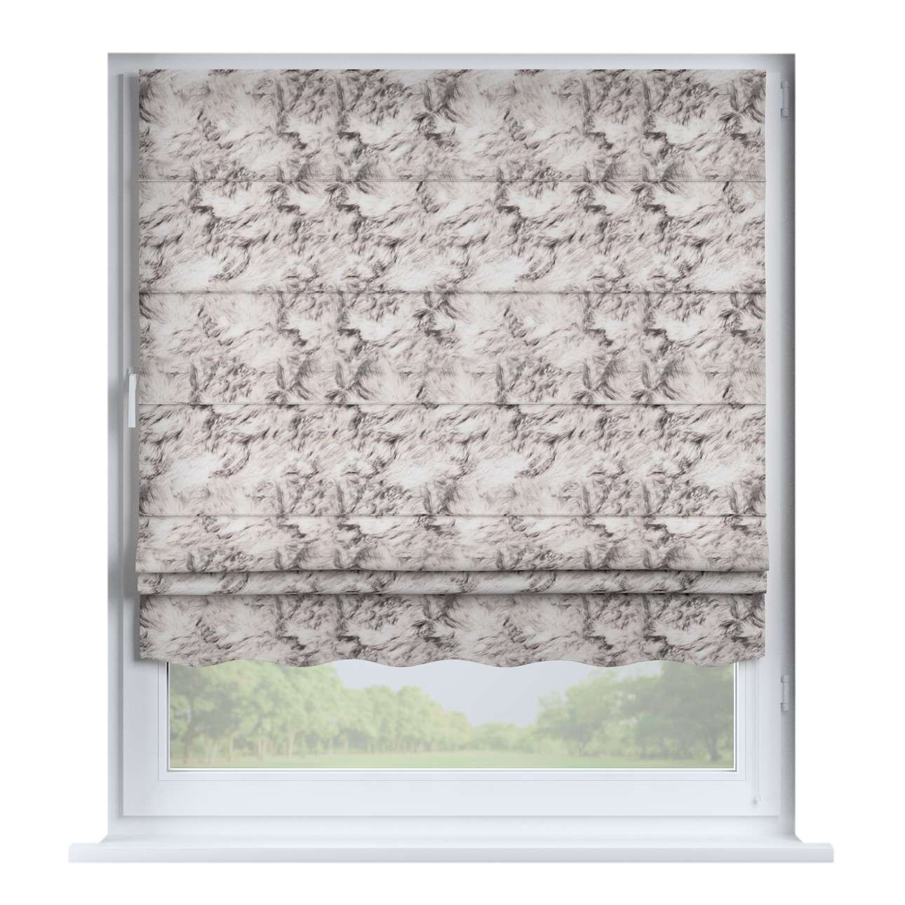 Florence roman blind  80 x 170 cm (31.5 x 67 inch) in collection Freestyle, fabric: 140-82