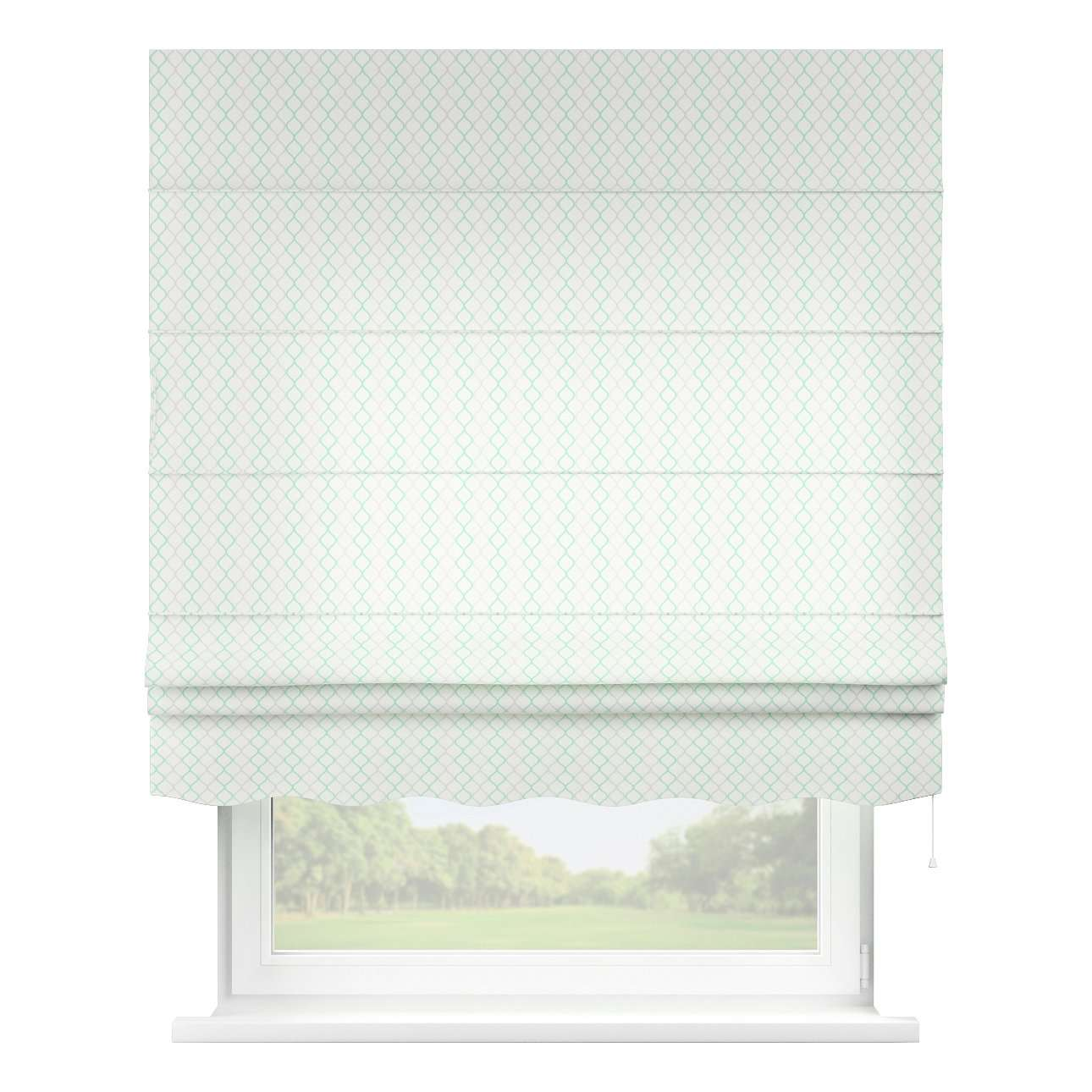 Florence roman blind  80 x 170 cm (31.5 x 67 inch) in collection Geometric, fabric: 141-47