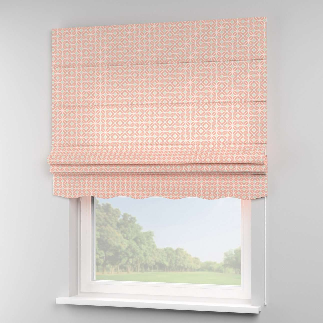 Florence roman blind  in collection Geometric, fabric: 141-48