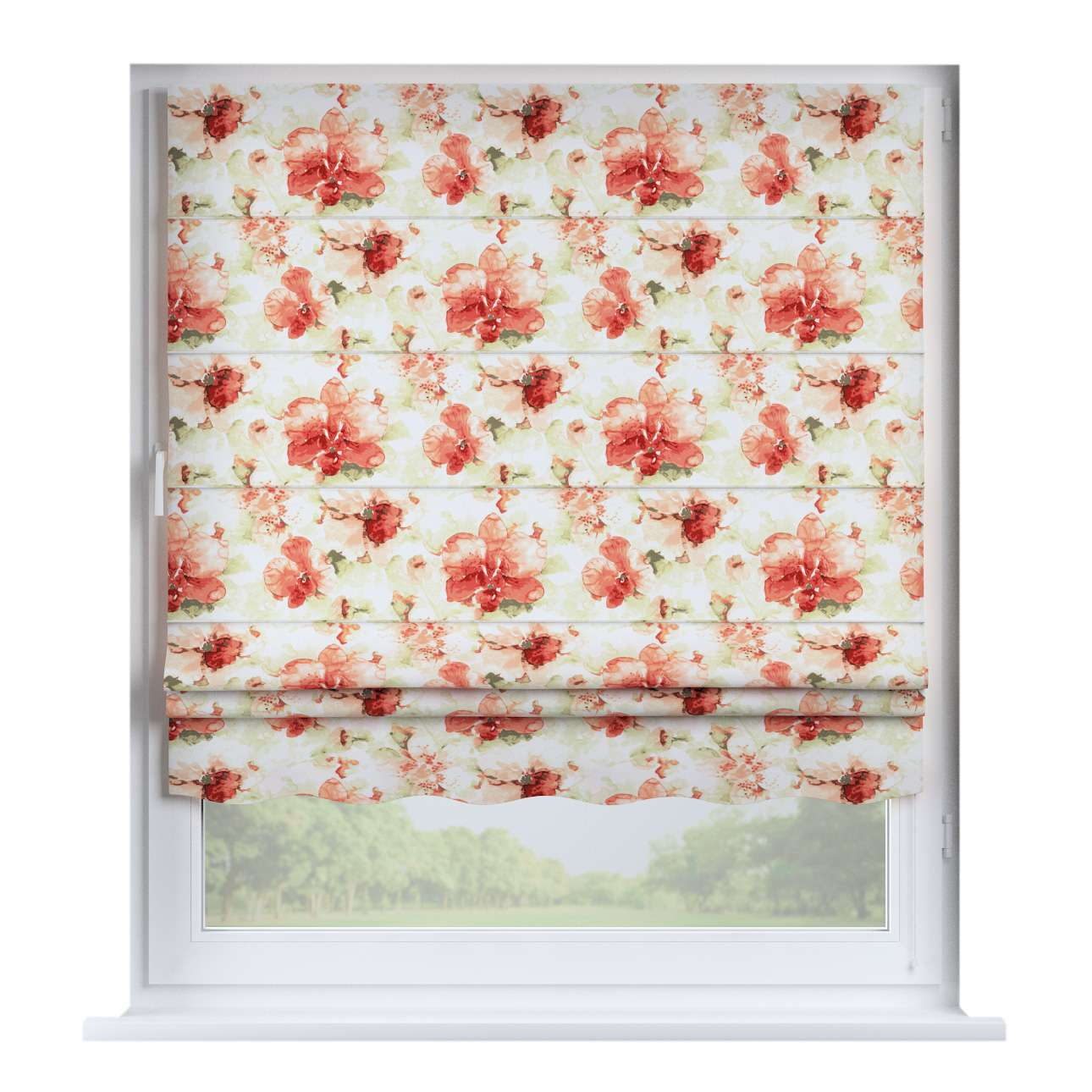 Florence roman blind  80 x 170 cm (31.5 x 67 inch) in collection Acapulco, fabric: 141-34