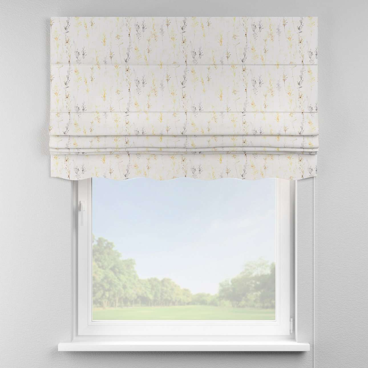 Florence roman blind  80 x 170 cm (31.5 x 67 inch) in collection Acapulco, fabric: 141-36