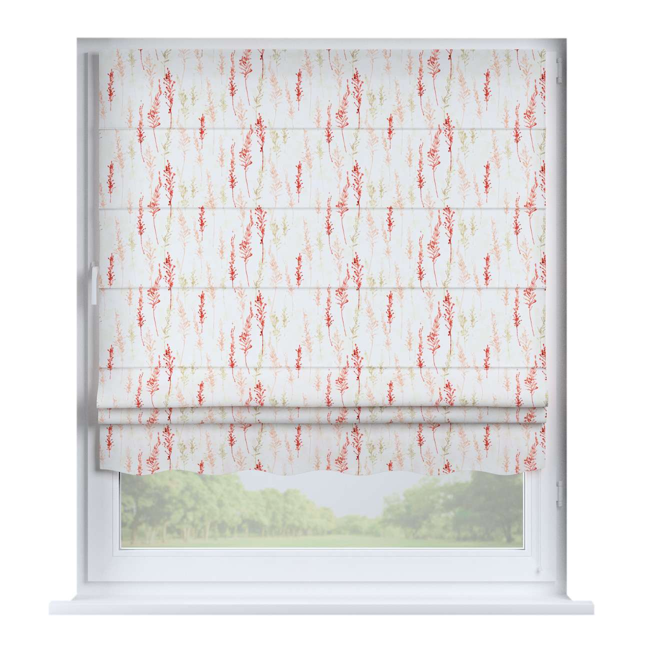 Florence roman blind  80 x 170 cm (31.5 x 67 inch) in collection Acapulco, fabric: 141-37