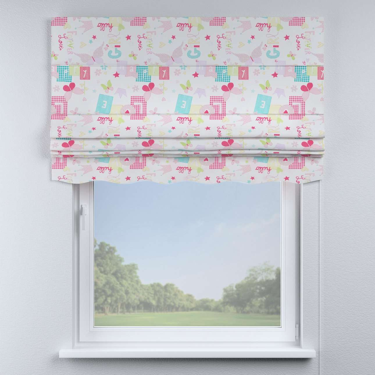 Florence roman blind  in collection Little World, fabric: 141-51
