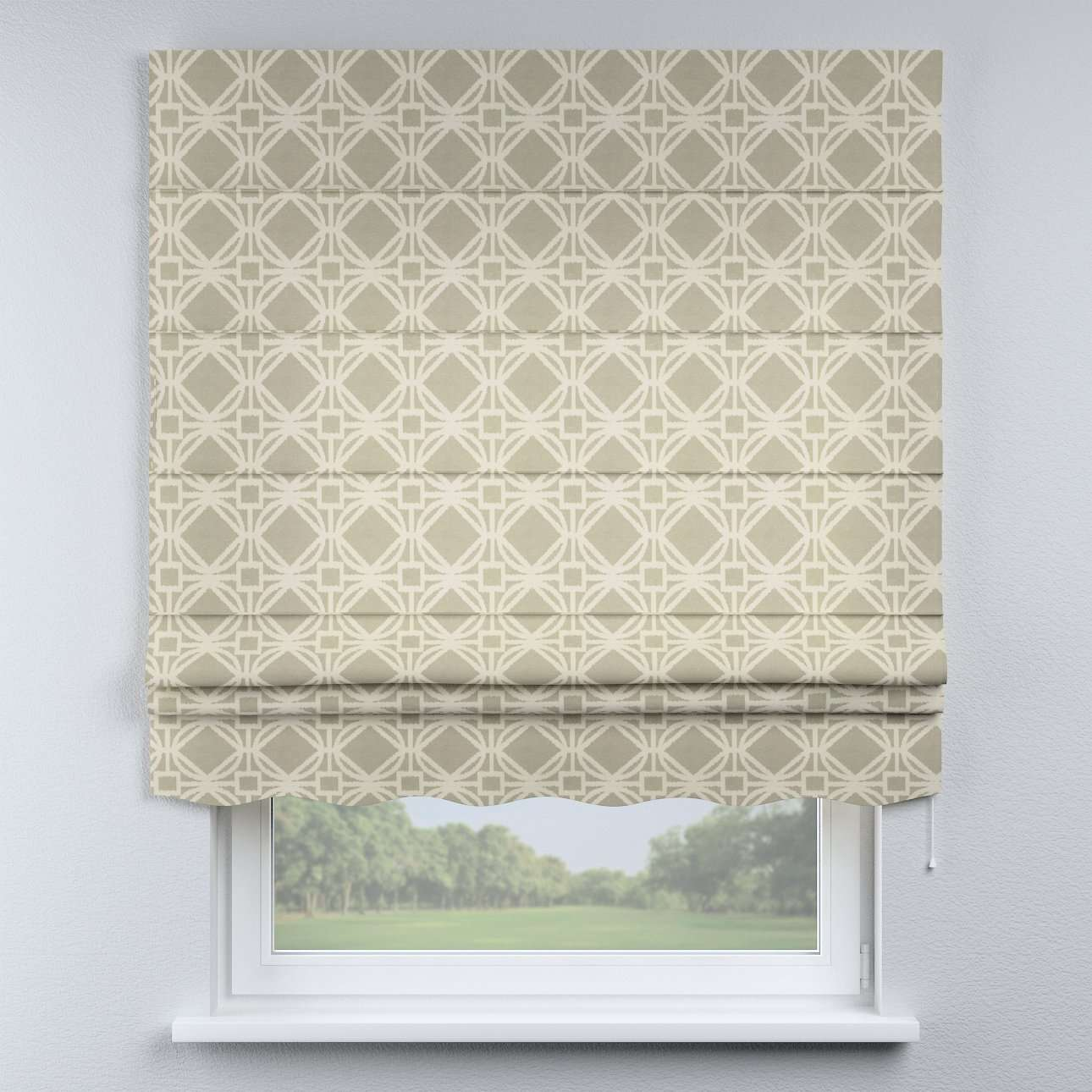 Florence roman blind  80 x 170 cm (31.5 x 67 inch) in collection Comic Book & Geo Prints, fabric: 141-56
