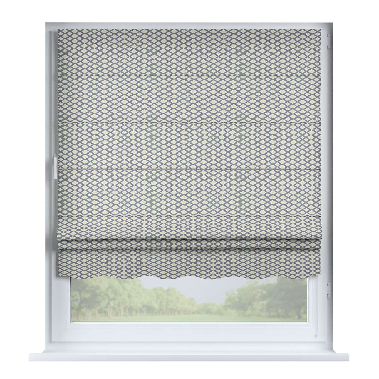 Florence roman blind  80 x 170 cm (31.5 x 67 inch) in collection Comic Book & Geo Prints, fabric: 141-21