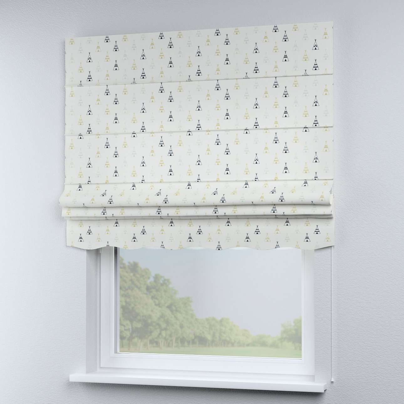 Florence roman blind  in collection Adventure, fabric: 141-84
