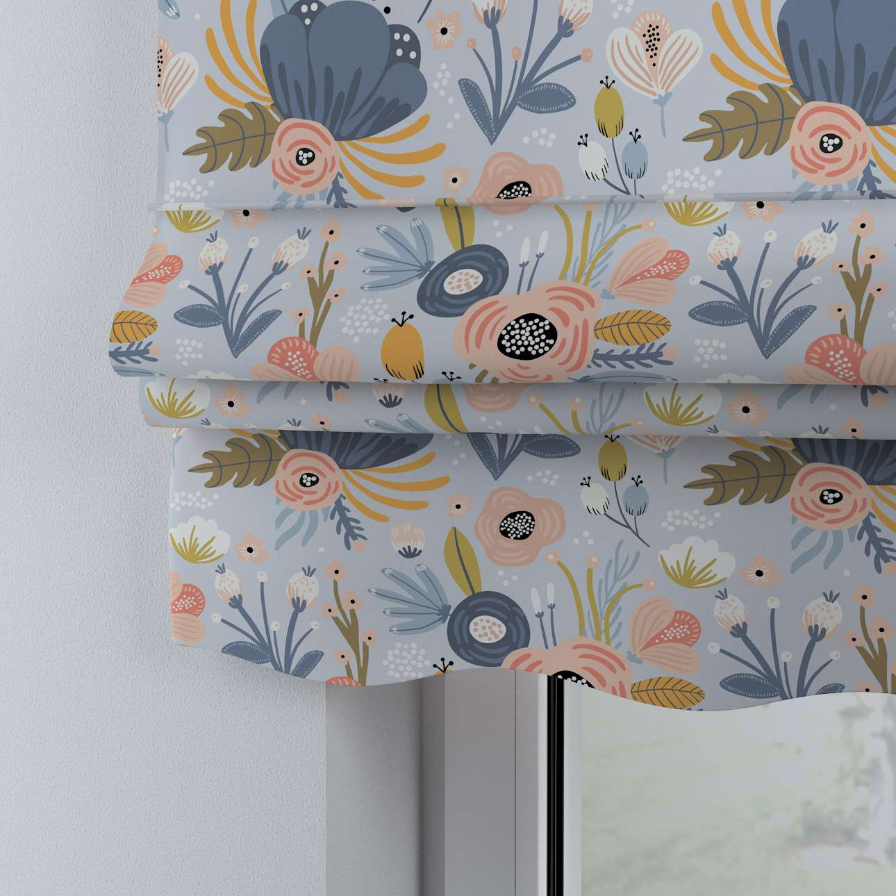 Mela roman blind in collection Magic Collection, fabric: 500-05