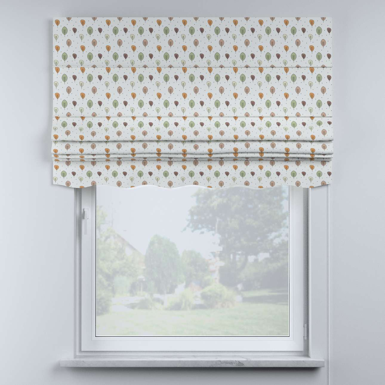 Mela roman blind in collection Magic Collection, fabric: 500-09