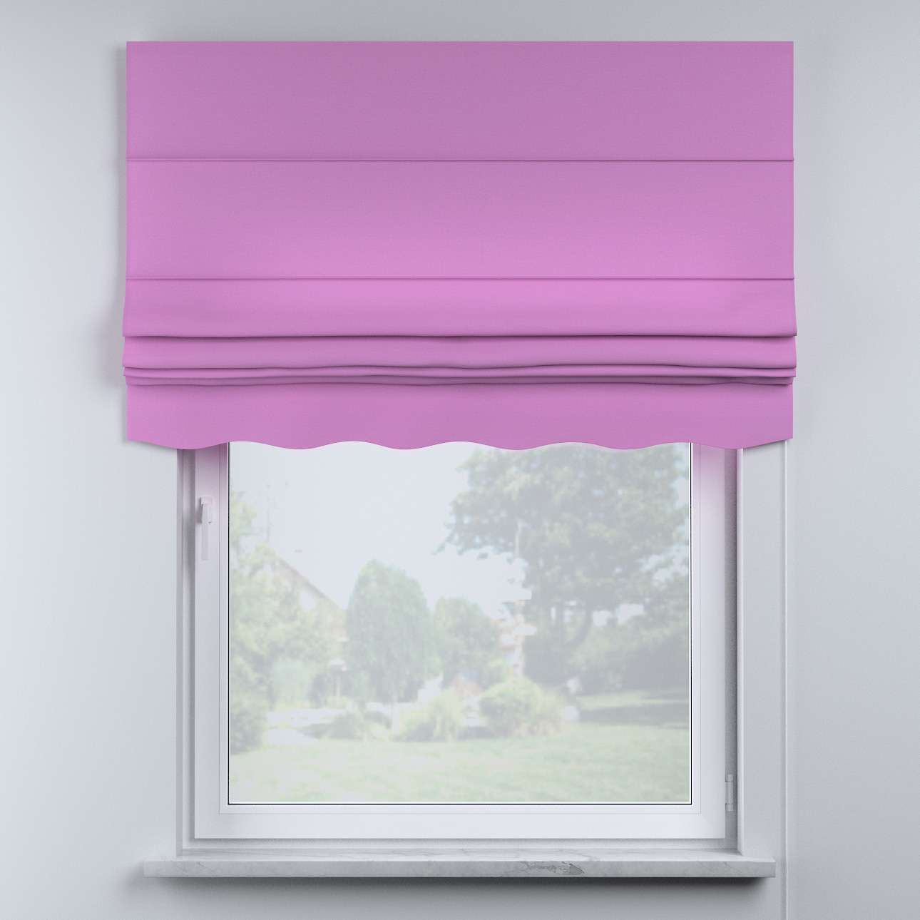 Mela roman blind in collection Happiness, fabric: 133-38