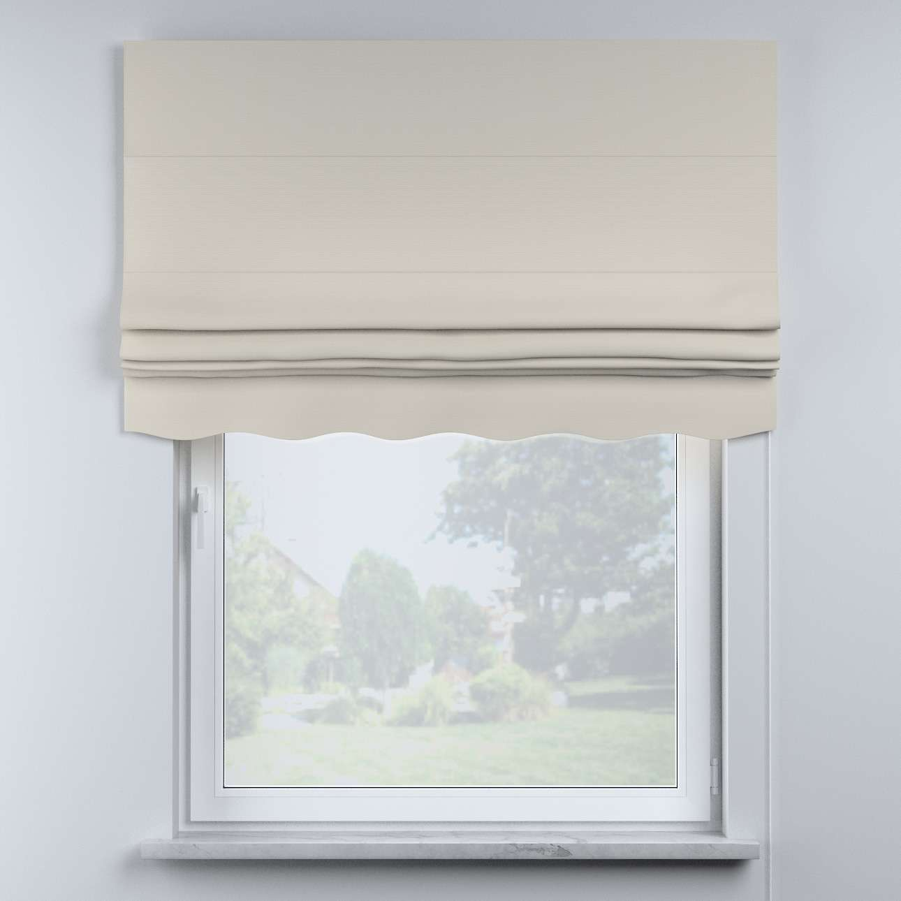 Mela roman blind in collection Cotton Story, fabric: 702-31