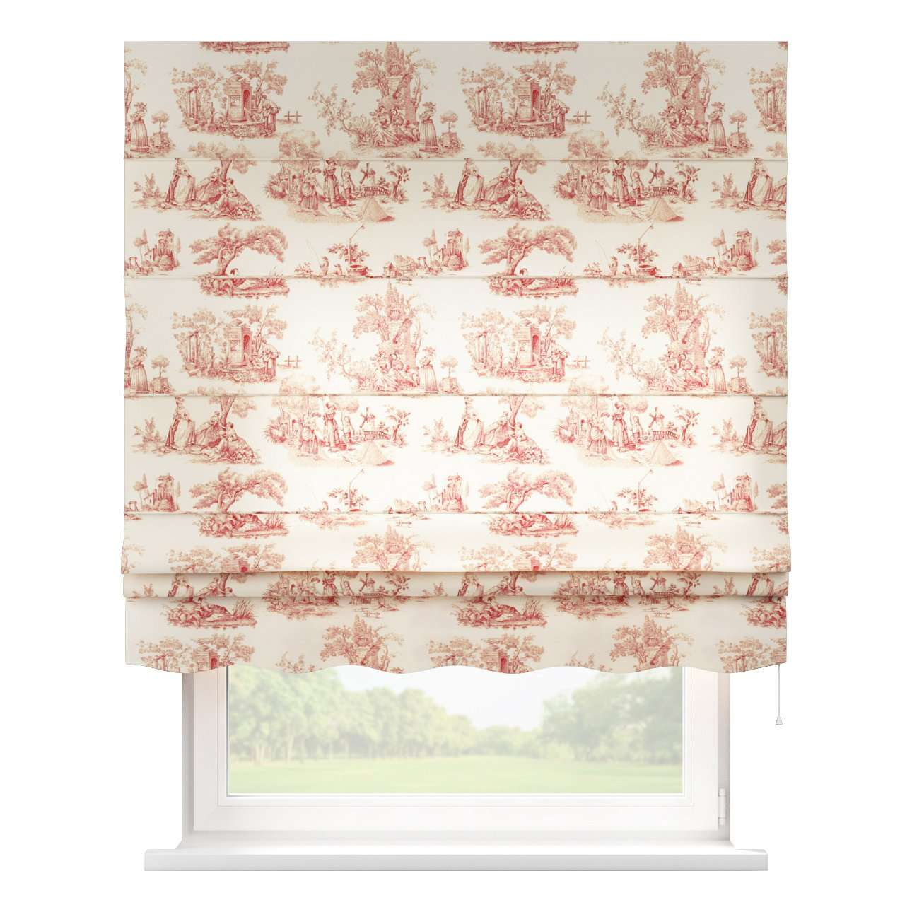 Florence roman blind  80 x 170 cm (31.5 x 67 inch) in collection Avinon, fabric: 132-15