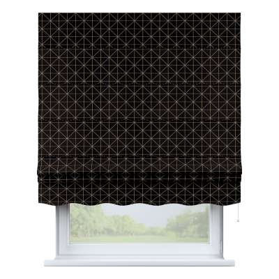 Florence roman blind 142-55 black and white Collection Christmas