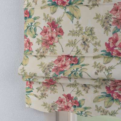 Florence roman blind 143-40 pink-green-ecru Collection Londres