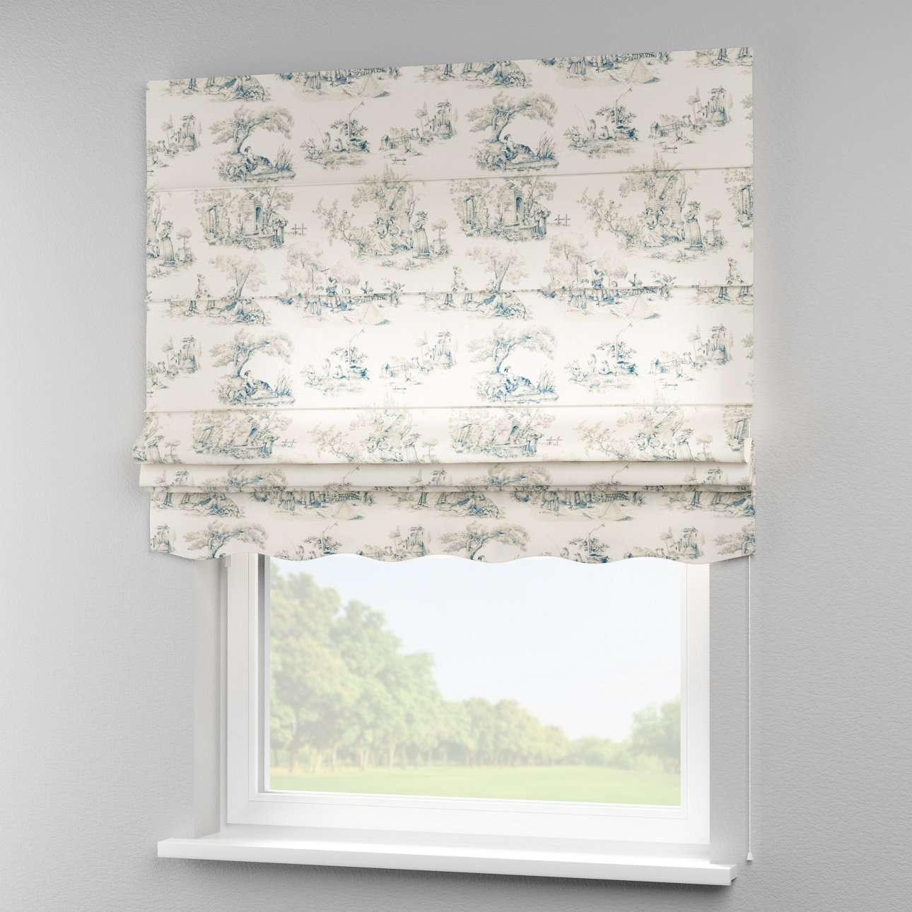 Florence roman blind  80 x 170 cm (31.5 x 67 inch) in collection Avinon, fabric: 132-66