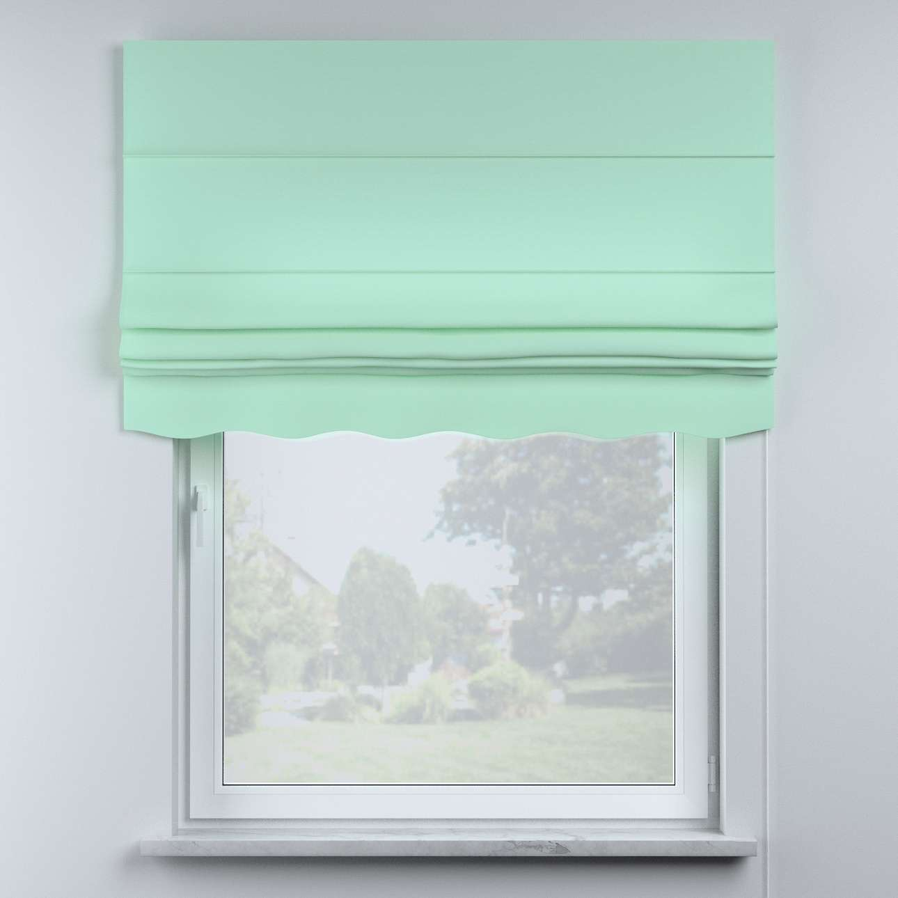 Mela roman blind in collection Happiness, fabric: 133-37