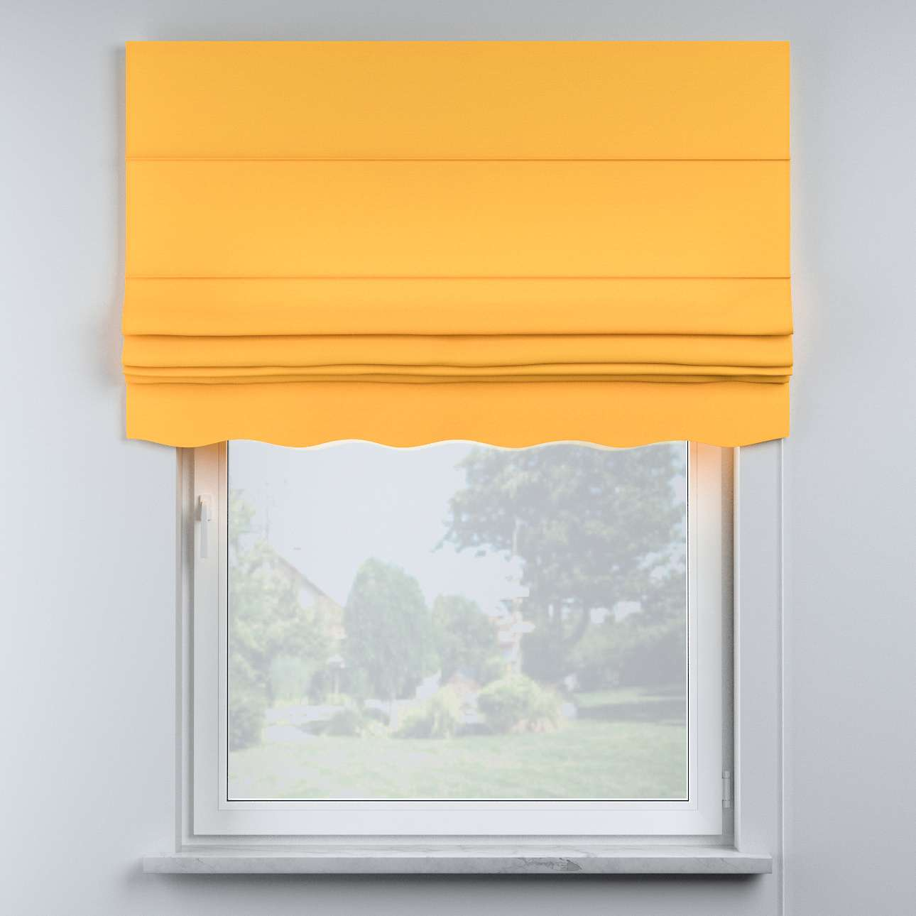 Mela roman blind in collection Happiness, fabric: 133-40