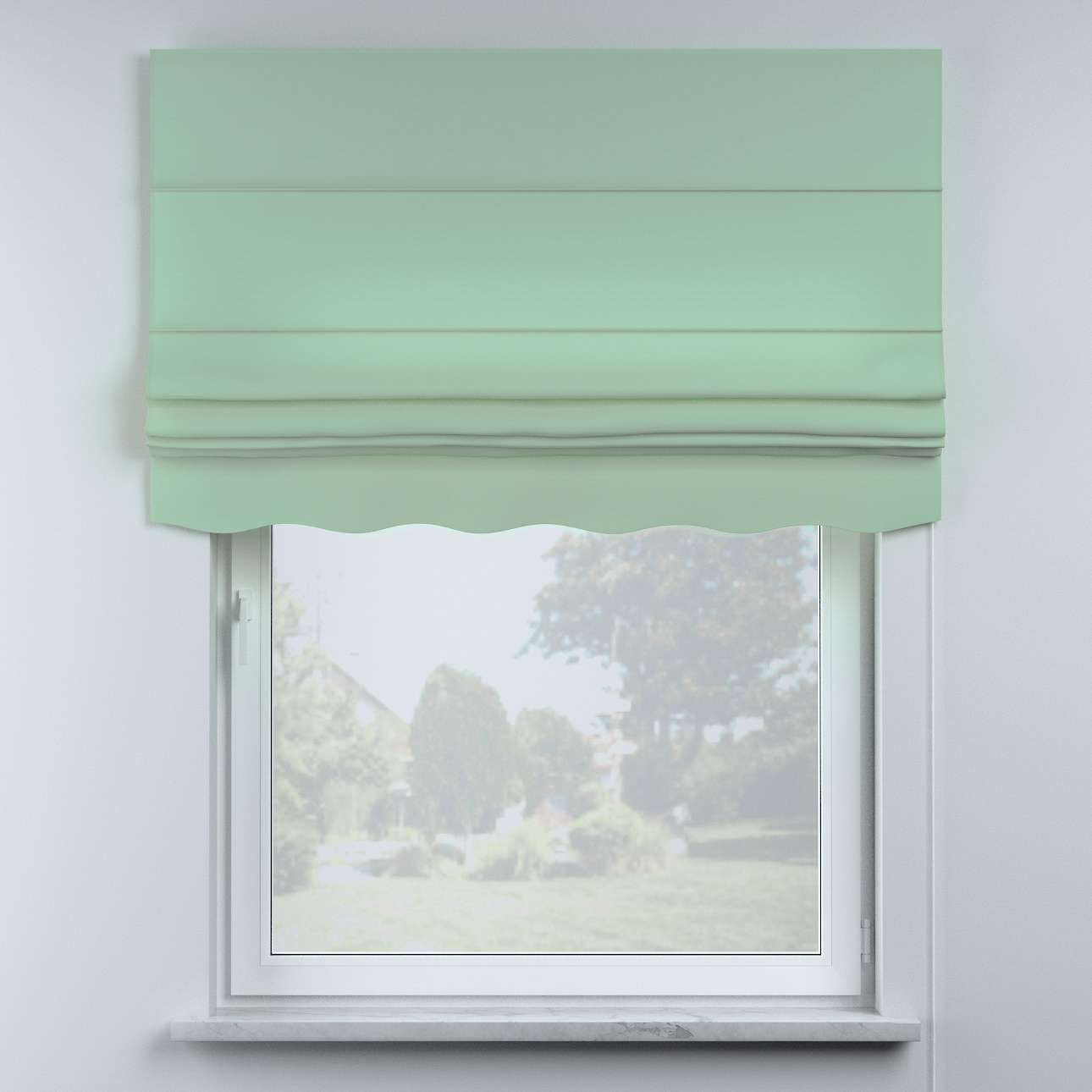 Mela roman blind in collection Happiness, fabric: 133-61