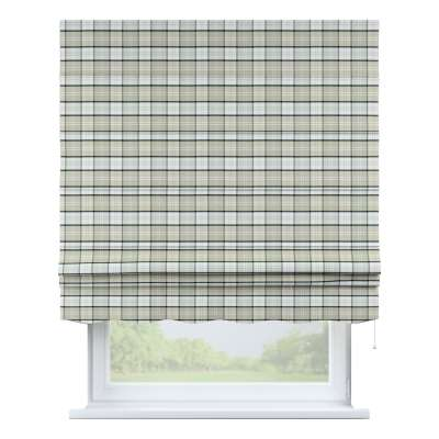 Florence roman blind 143-64 gray-beige check Collection Bristol