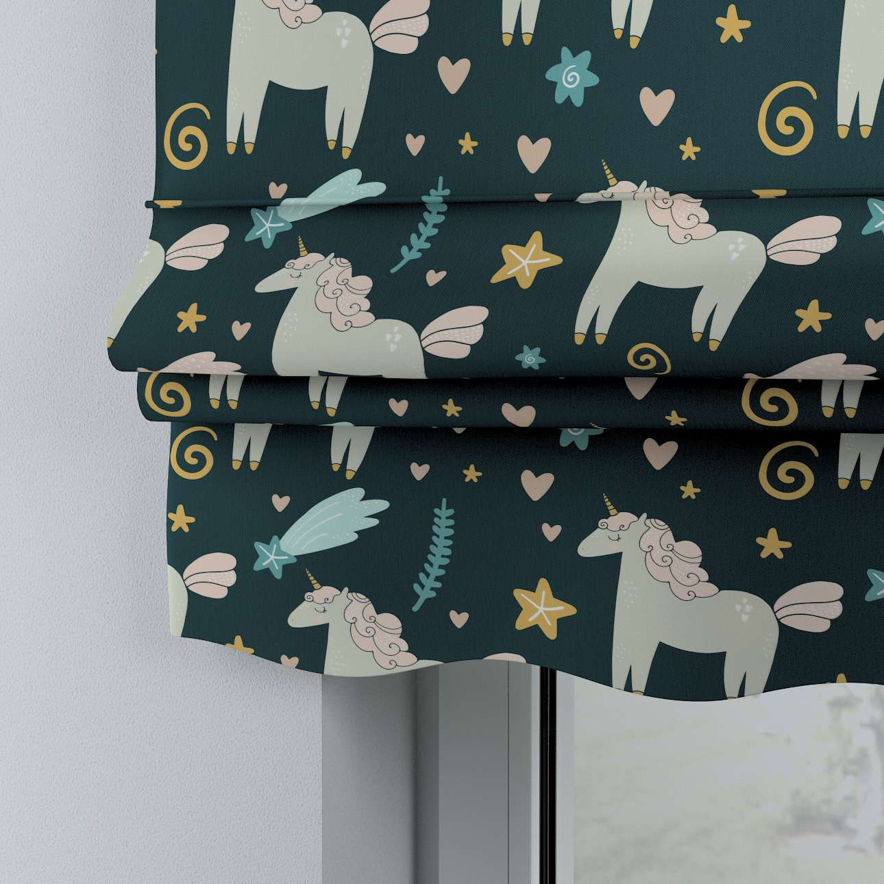 Mela roman blind in collection Magic Collection, fabric: 500-43