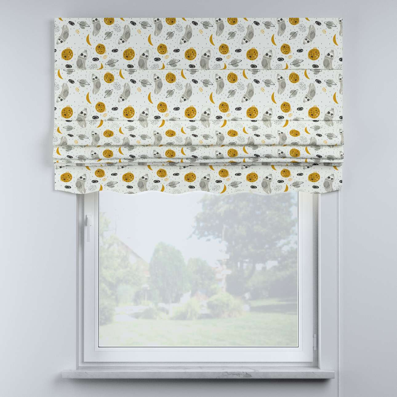 Mela roman blind in collection Magic Collection, fabric: 500-44