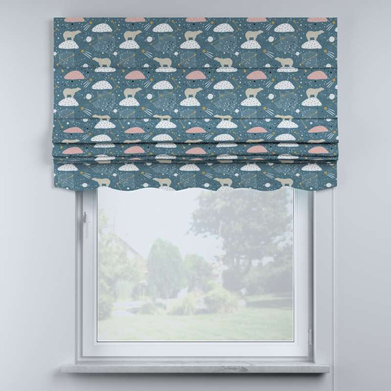 Mela roman blind in collection Magic Collection, fabric: 500-45