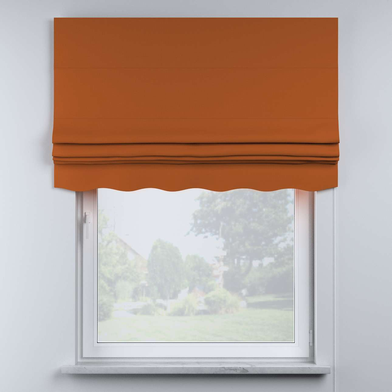 Mela roman blind in collection Cotton Story, fabric: 702-42