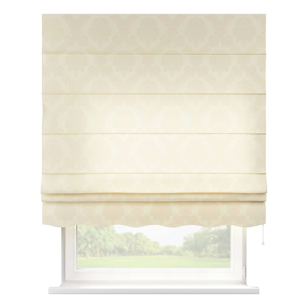 Florence roman blind  80 x 170 cm (31.5 x 67 inch) in collection Damasco, fabric: 613-01