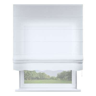 Florence roman blind 128-77 sheer white Collection Romantica